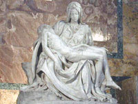 The Pieta, by Michaelangelo